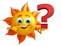 与问号的太阳字符-42605989.jpg